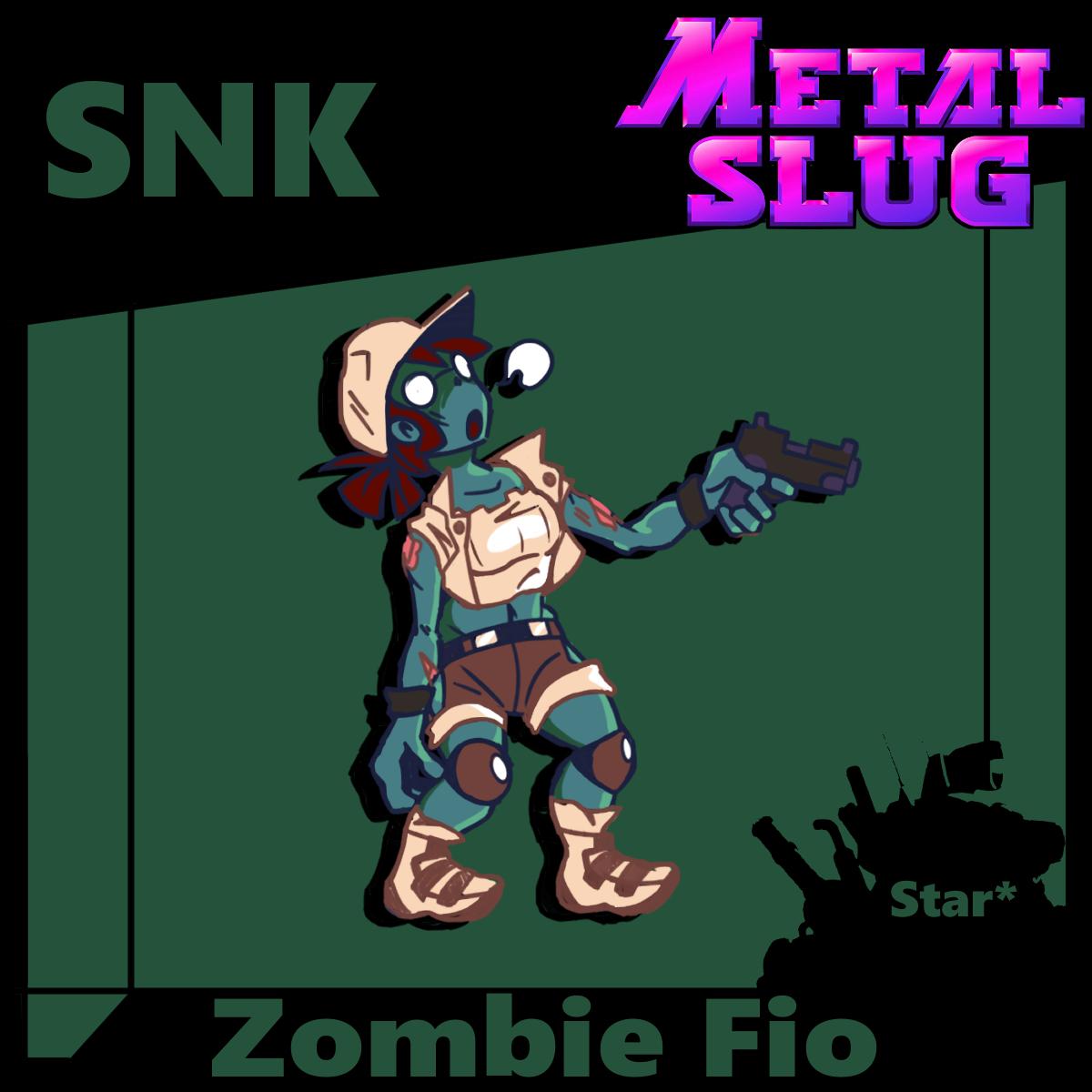 Zombie Fio 2D