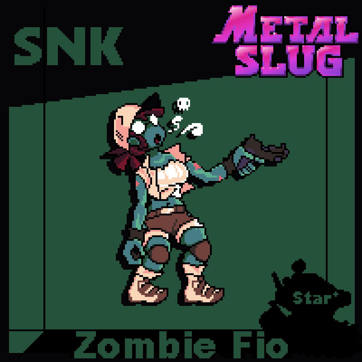 Zombie Fio Pixel