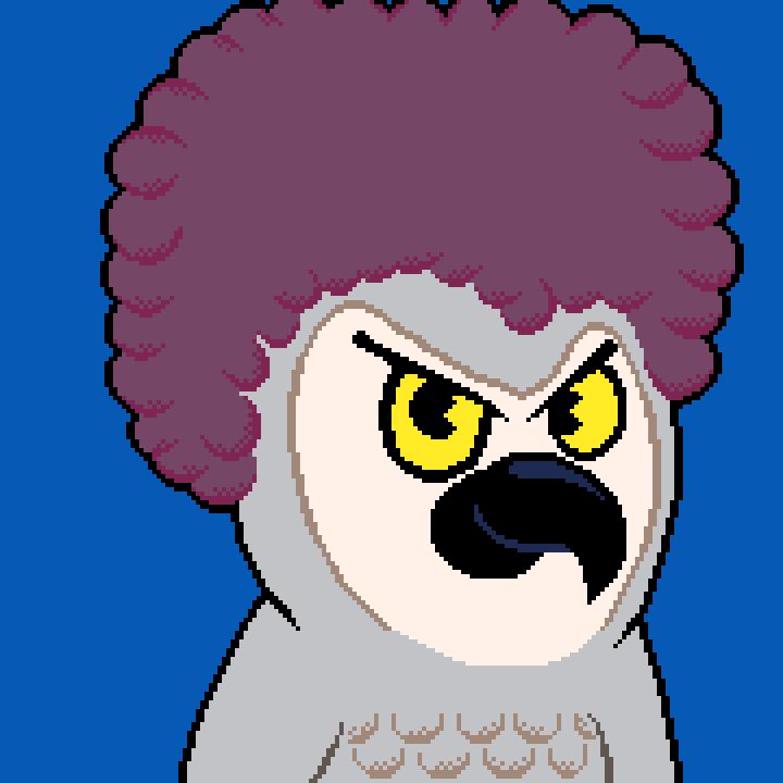 Hoo The Afro Owl