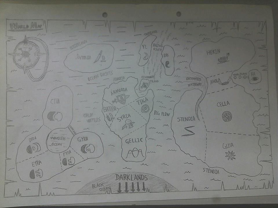World Map of Armoria