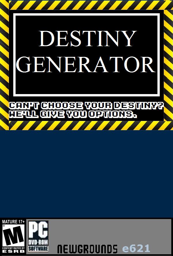 Destiny Generator