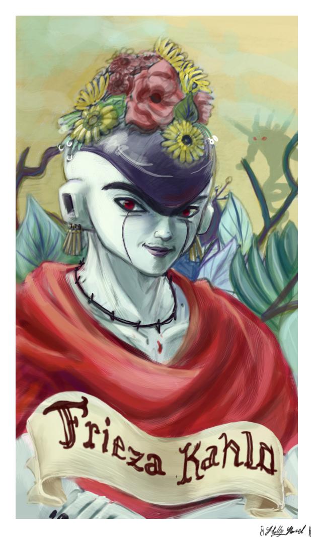 Frieza Kahlo