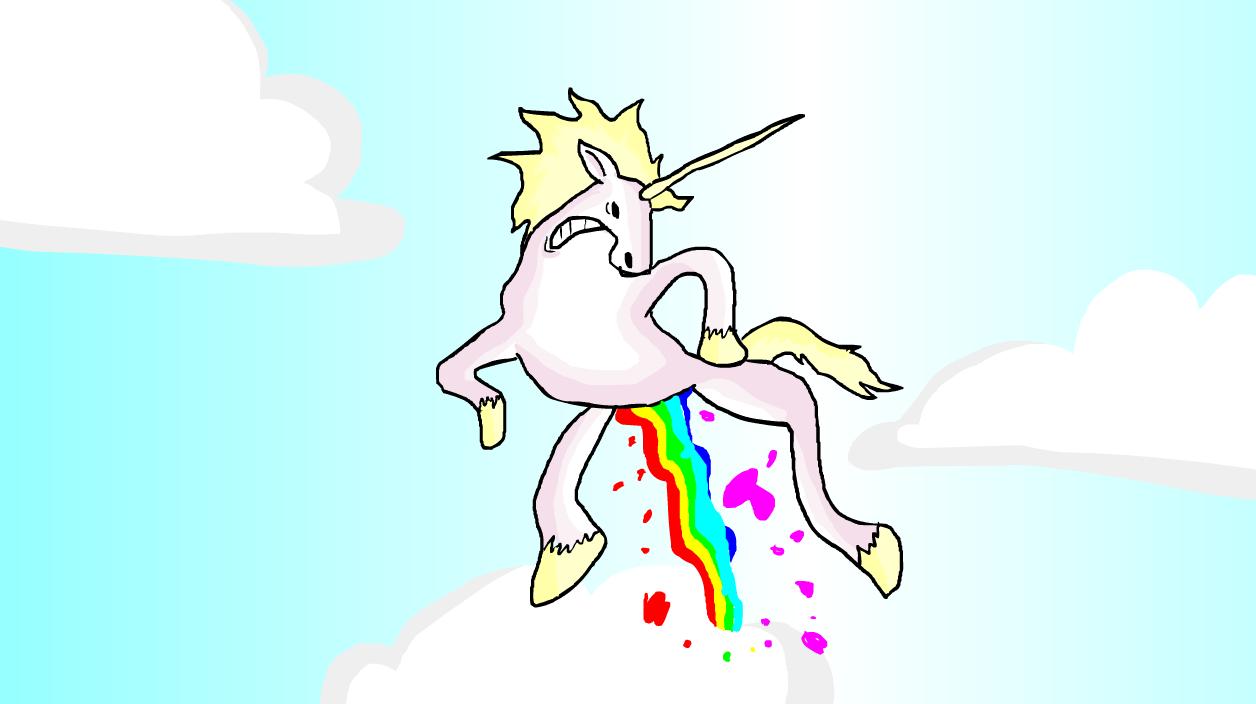 Unicorn Takes a Shit