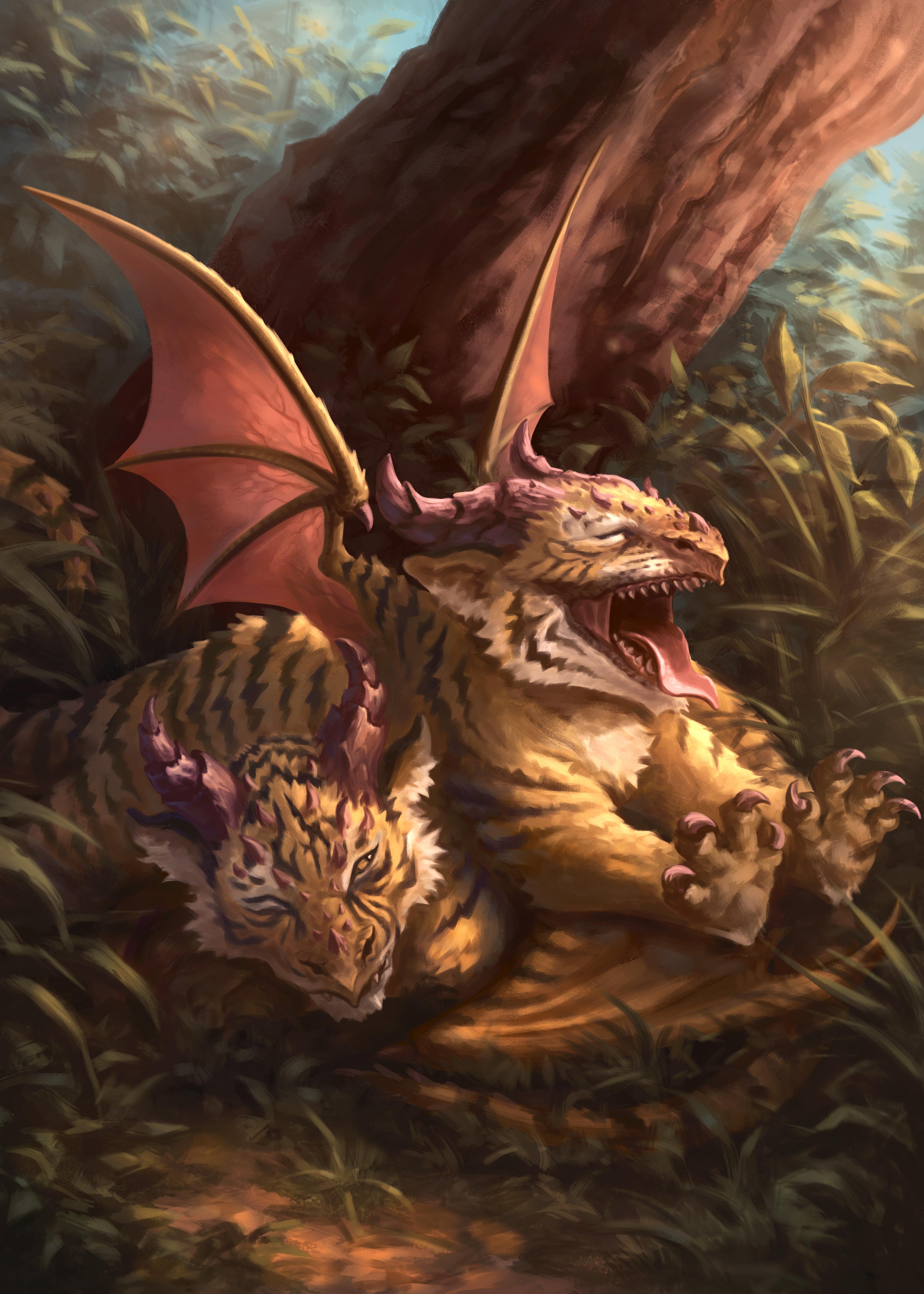 Tiger dragons