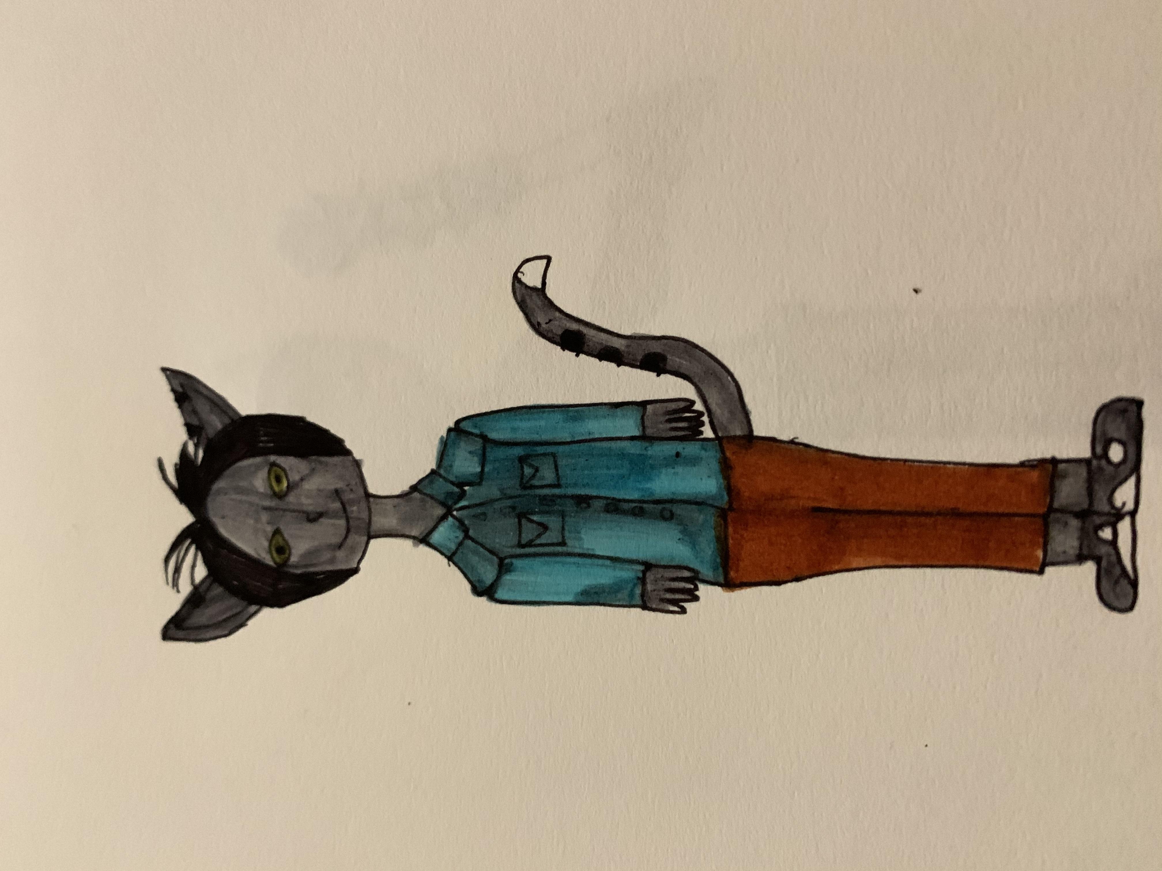 """Onyx the Werecat"""