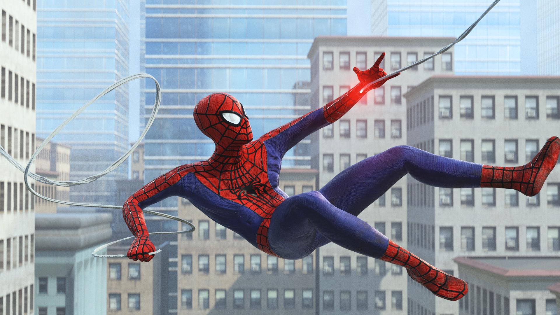 th amazing spider guy :)
