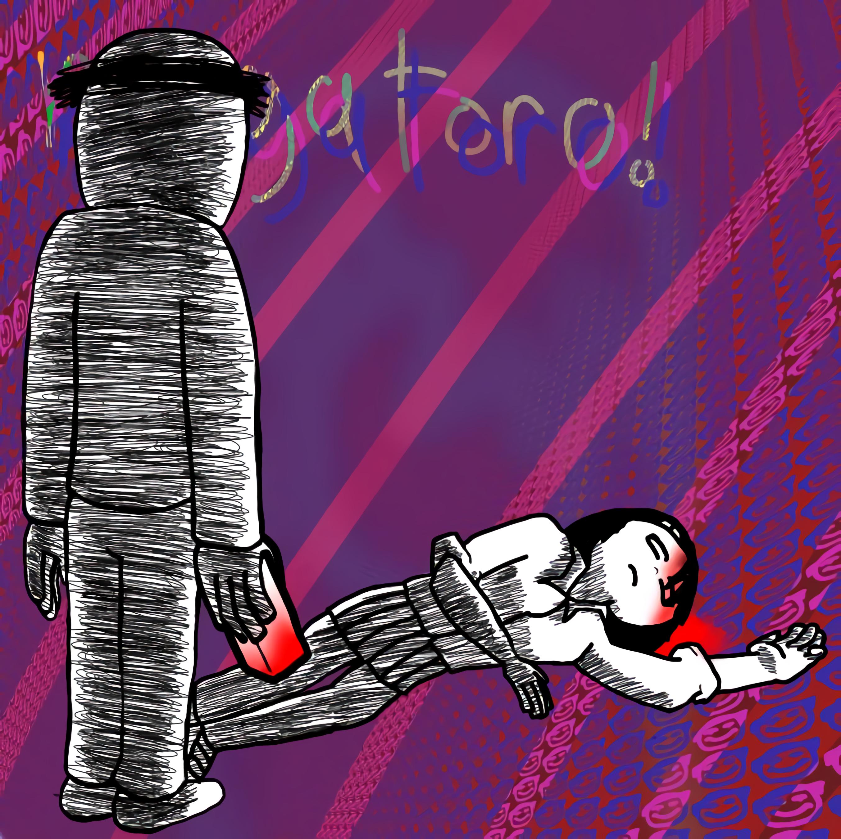 nagatoro and the brick