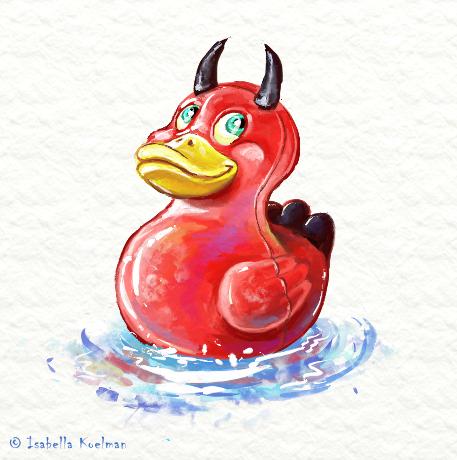 Evil Ducky