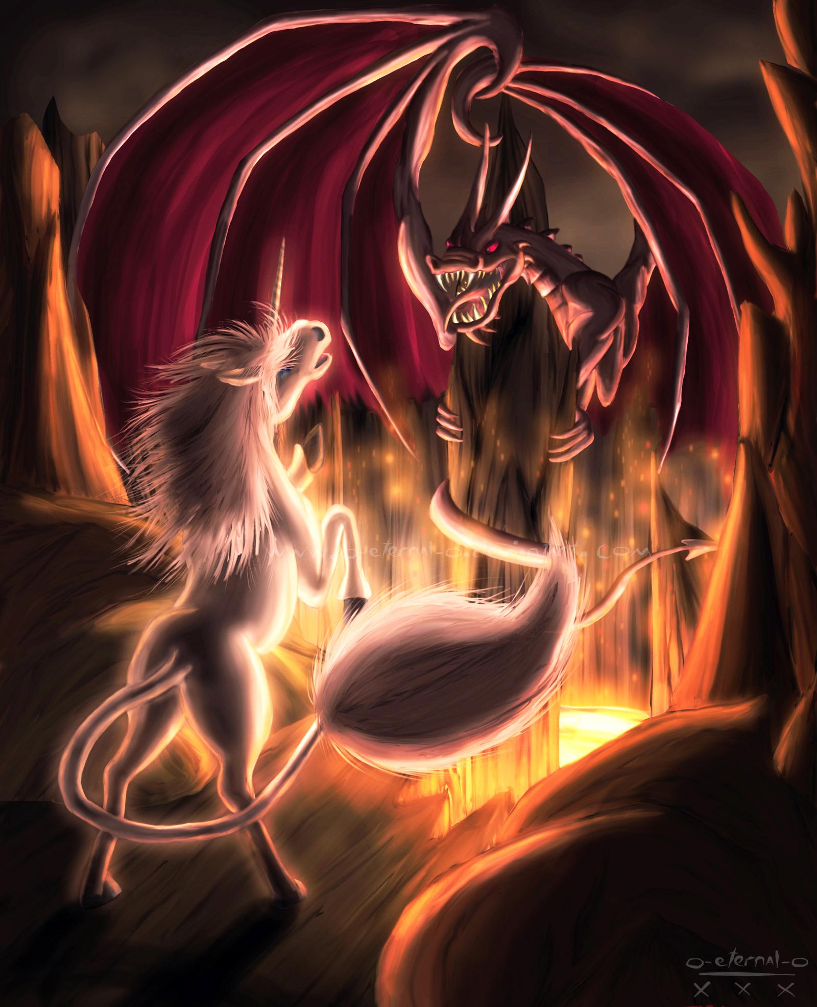 Unicorn and the Dragon