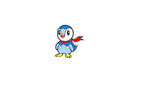 MY PIPLUP With Red Scratf
