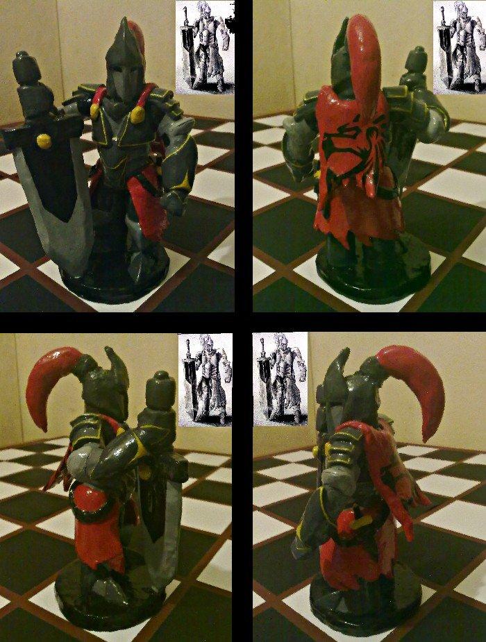 Chess Piece Human Race -Knight