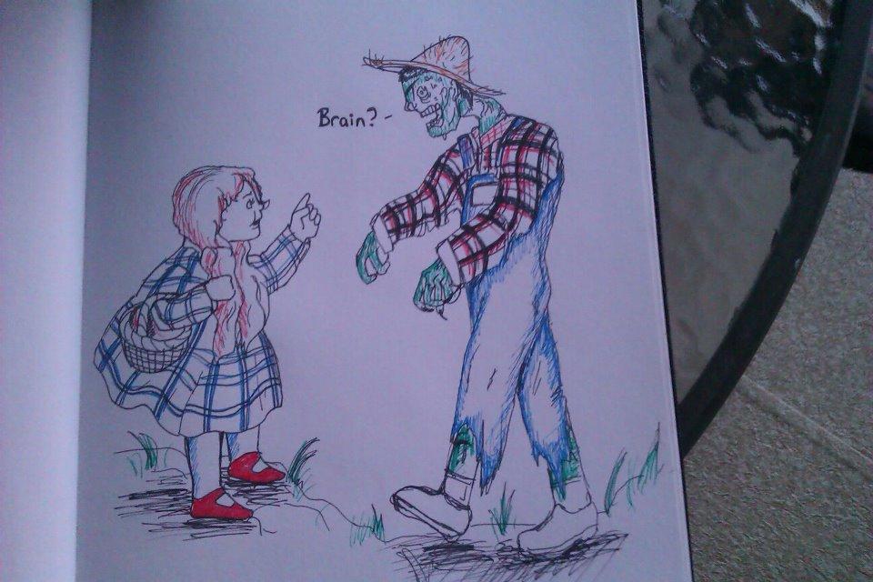 Scarecrow wants a brain