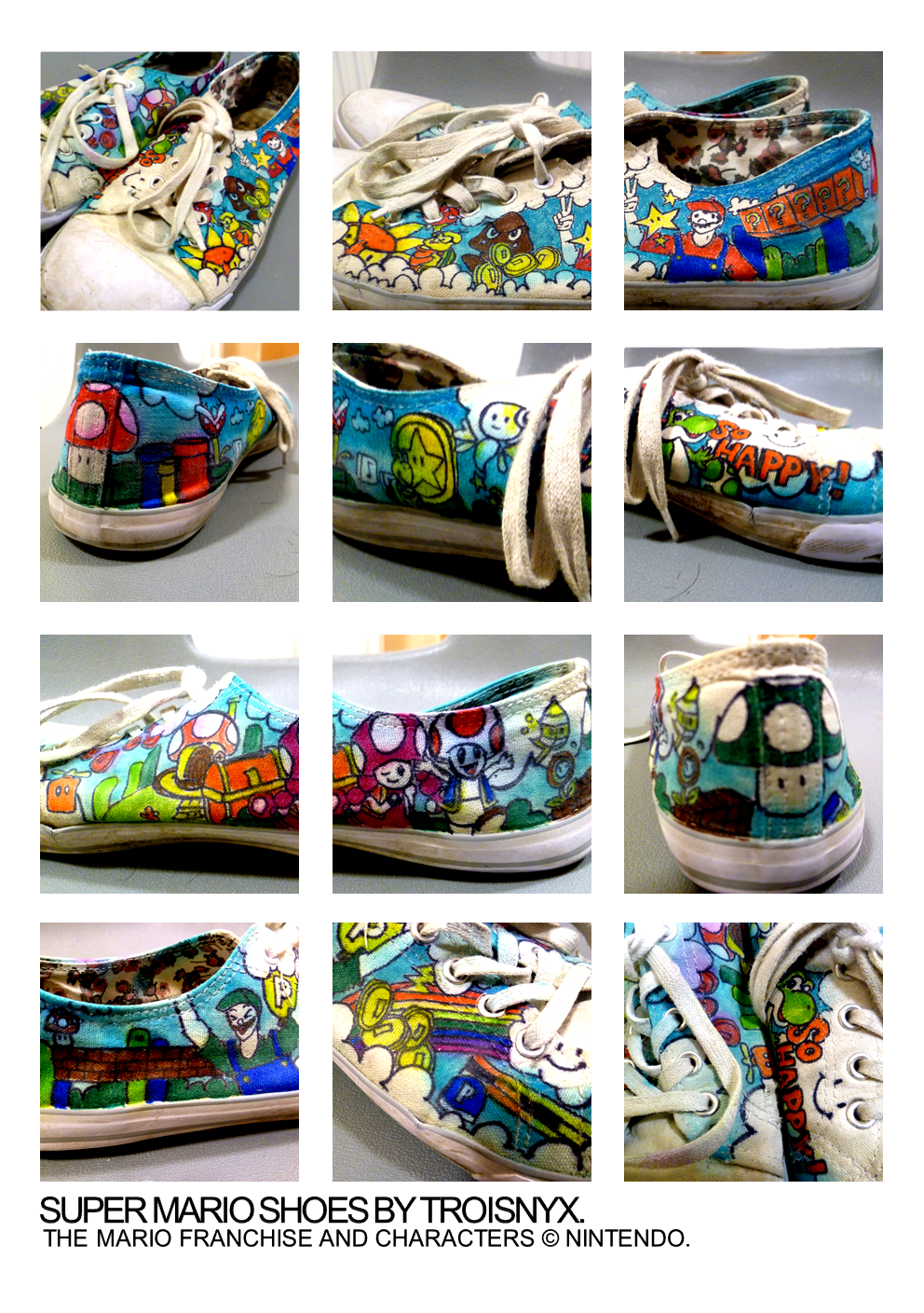 Super Mario Shoes!!