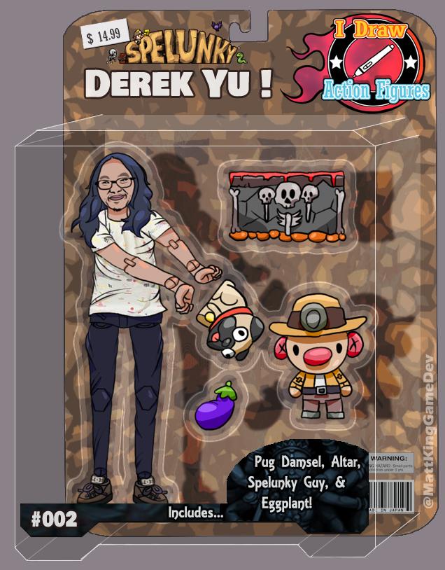 Spelunky creator Derek Yu