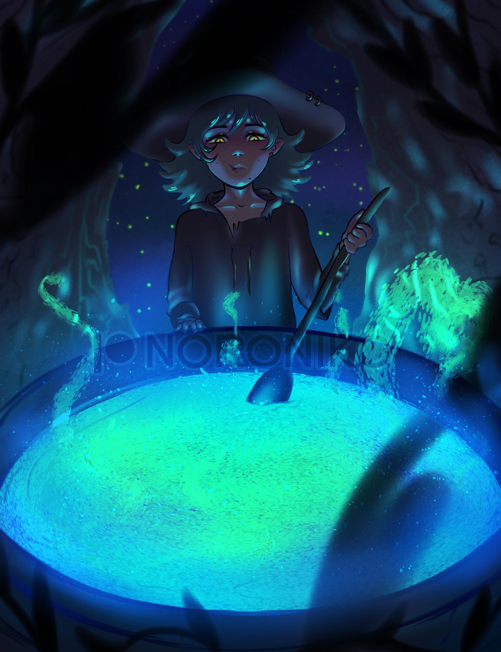 NOROtober Day 1 - Cauldron