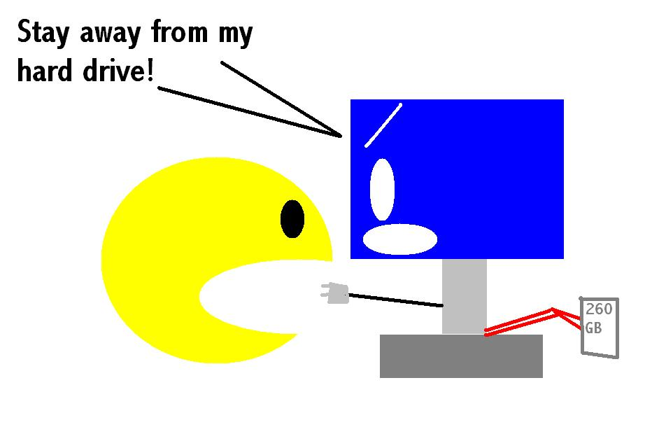 Pac-Man And The Computer #1
