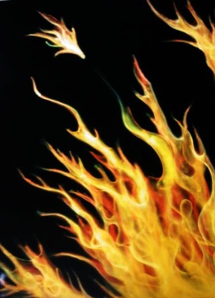 Faerie Fire Airbrush