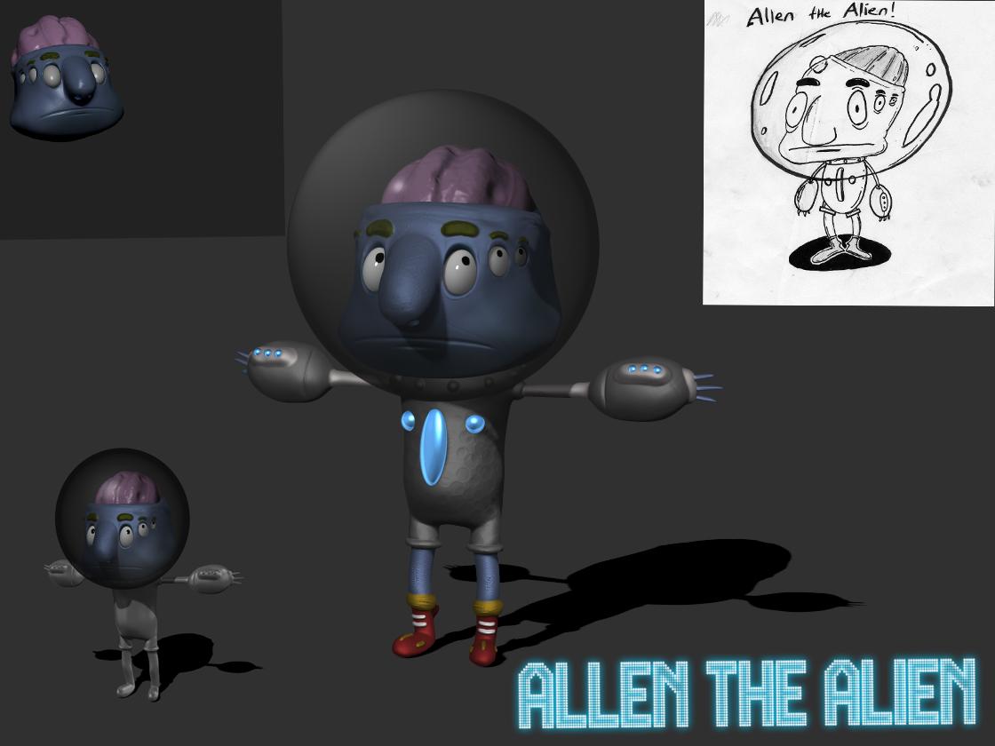 Allen the Alien!