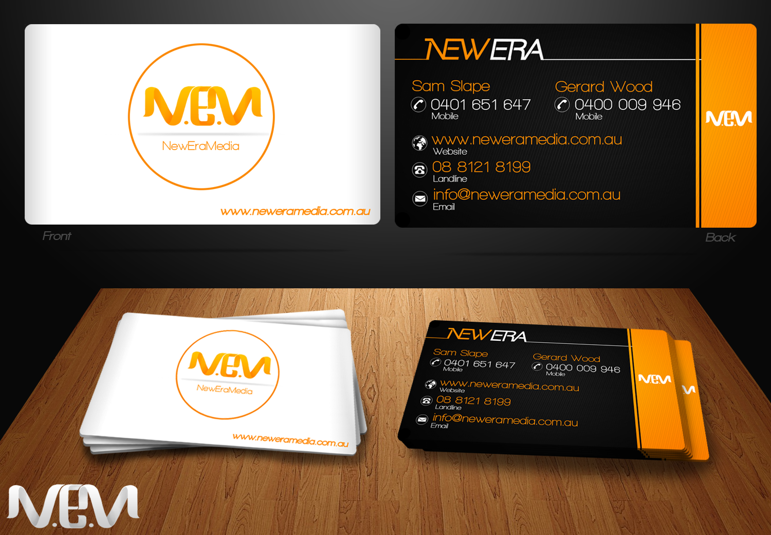 Rejected Logo/Businesscard