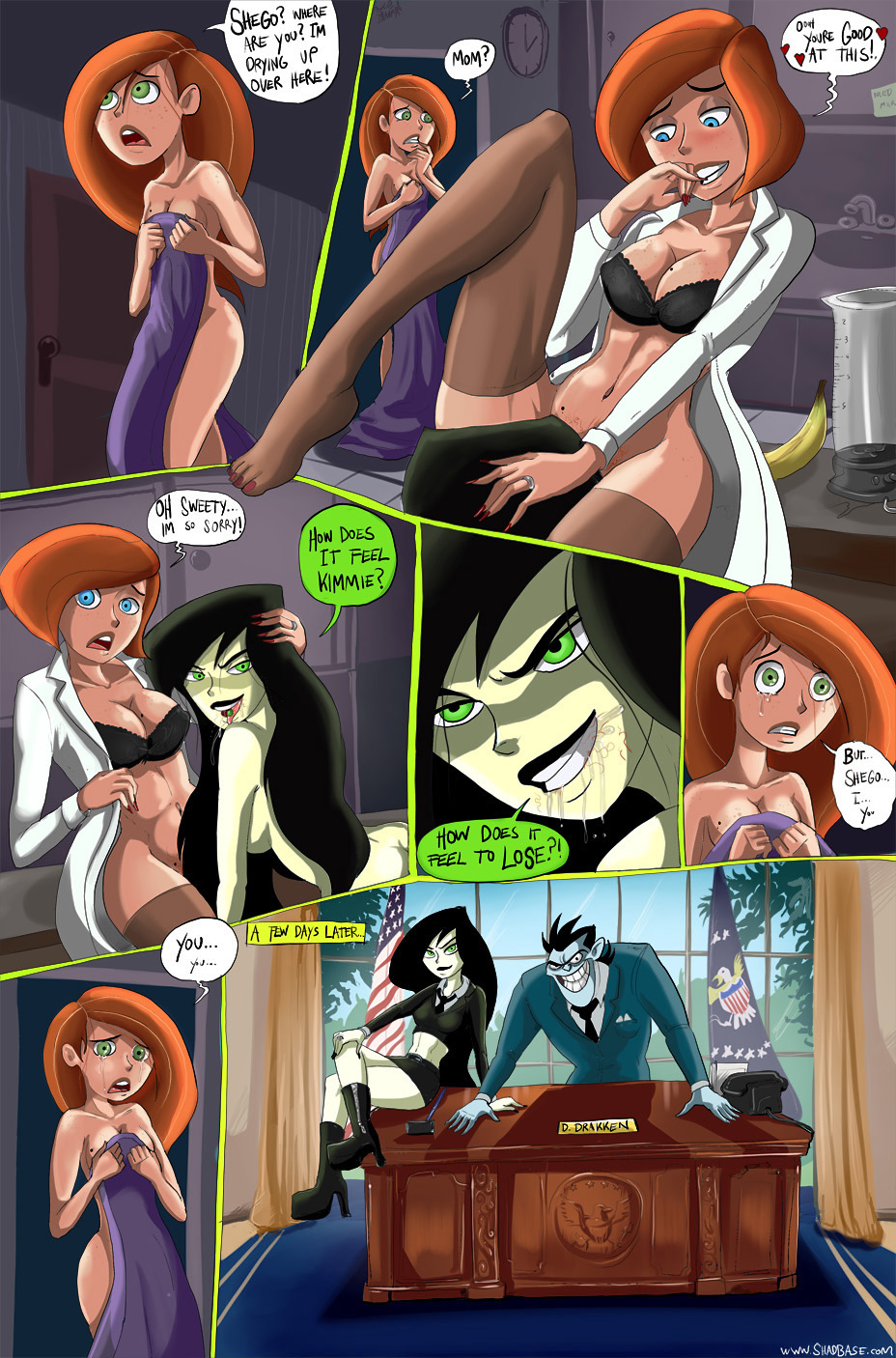 Kimmie & Shego : Part 3