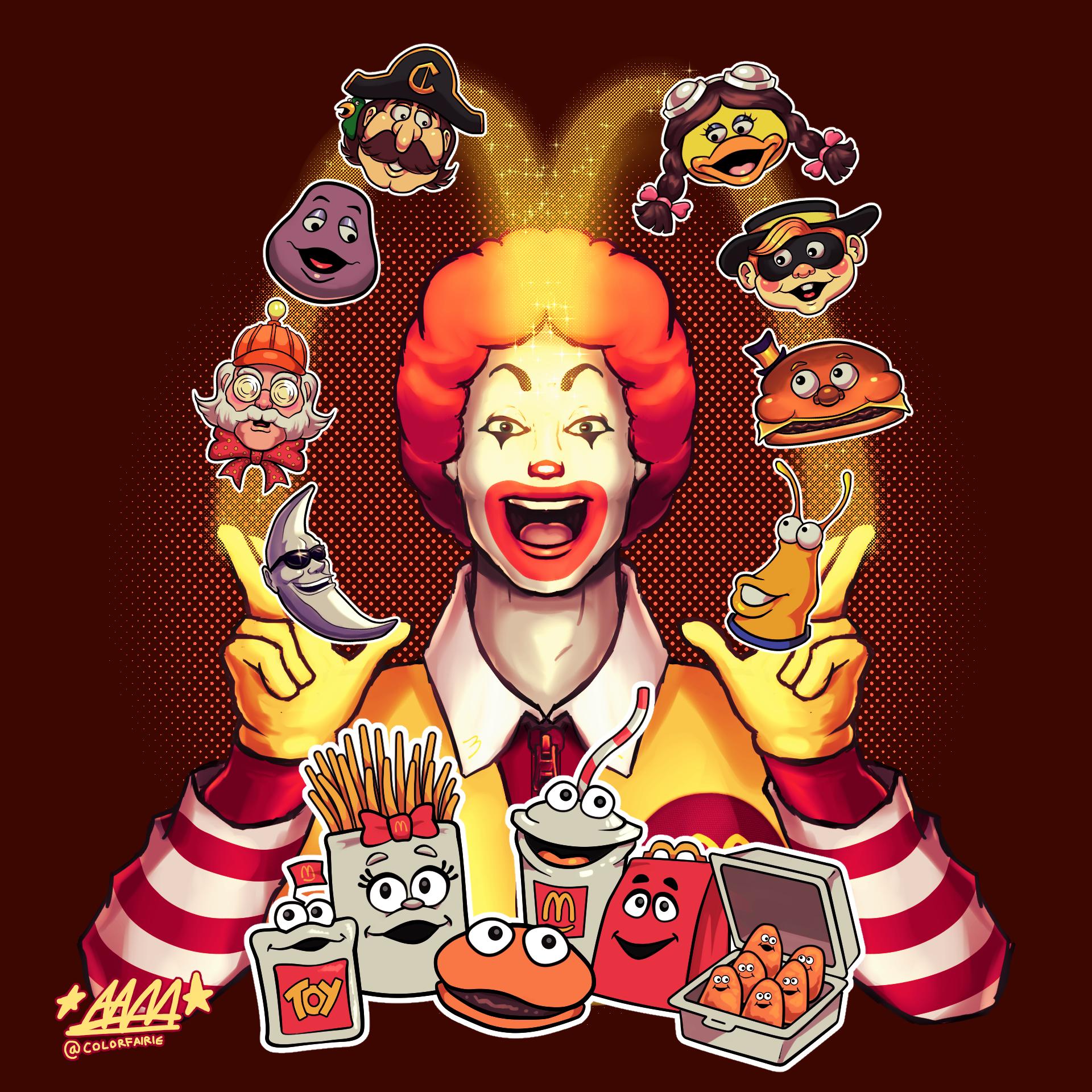 ClownTober 10: Ronald McDonald