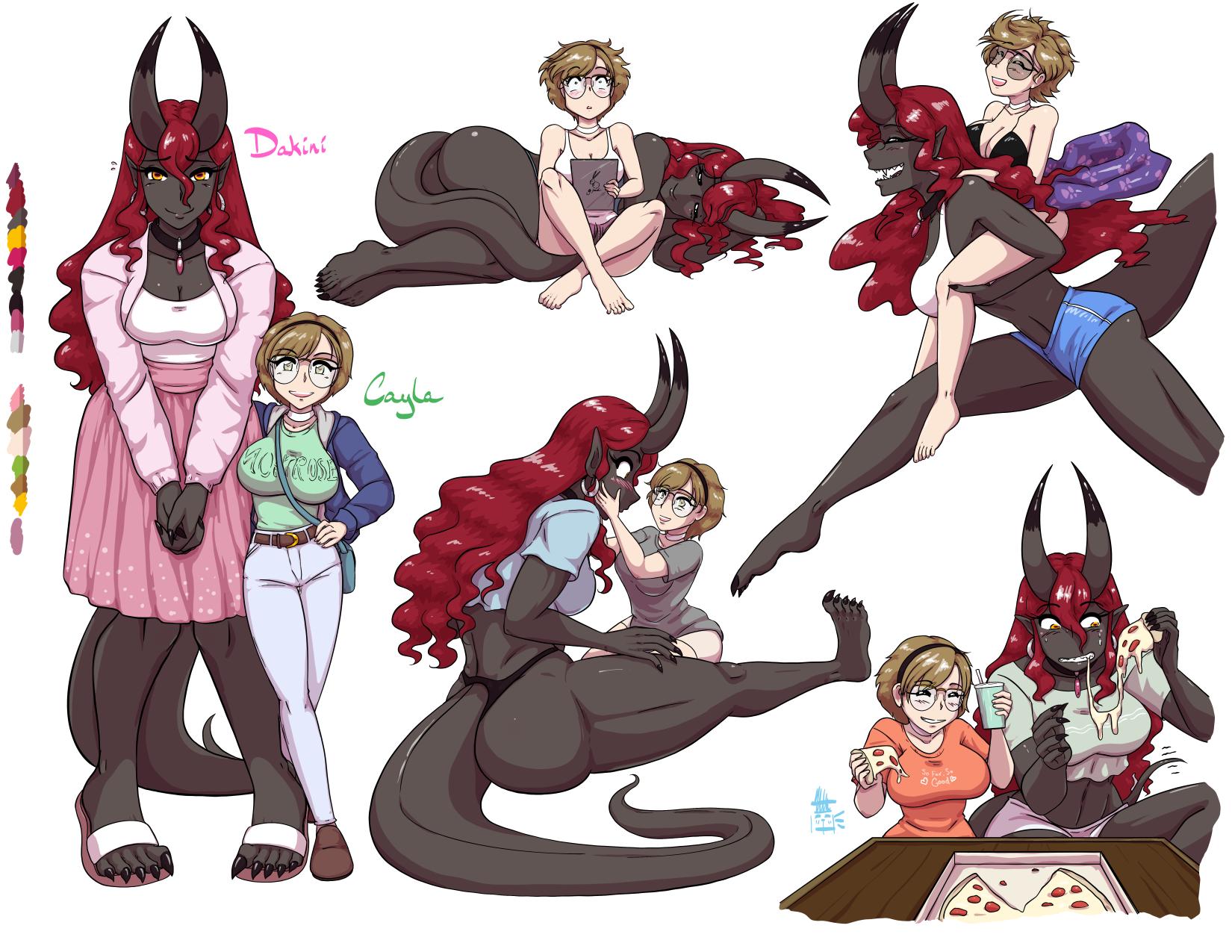 Dakini & Cayla: Character Sheet