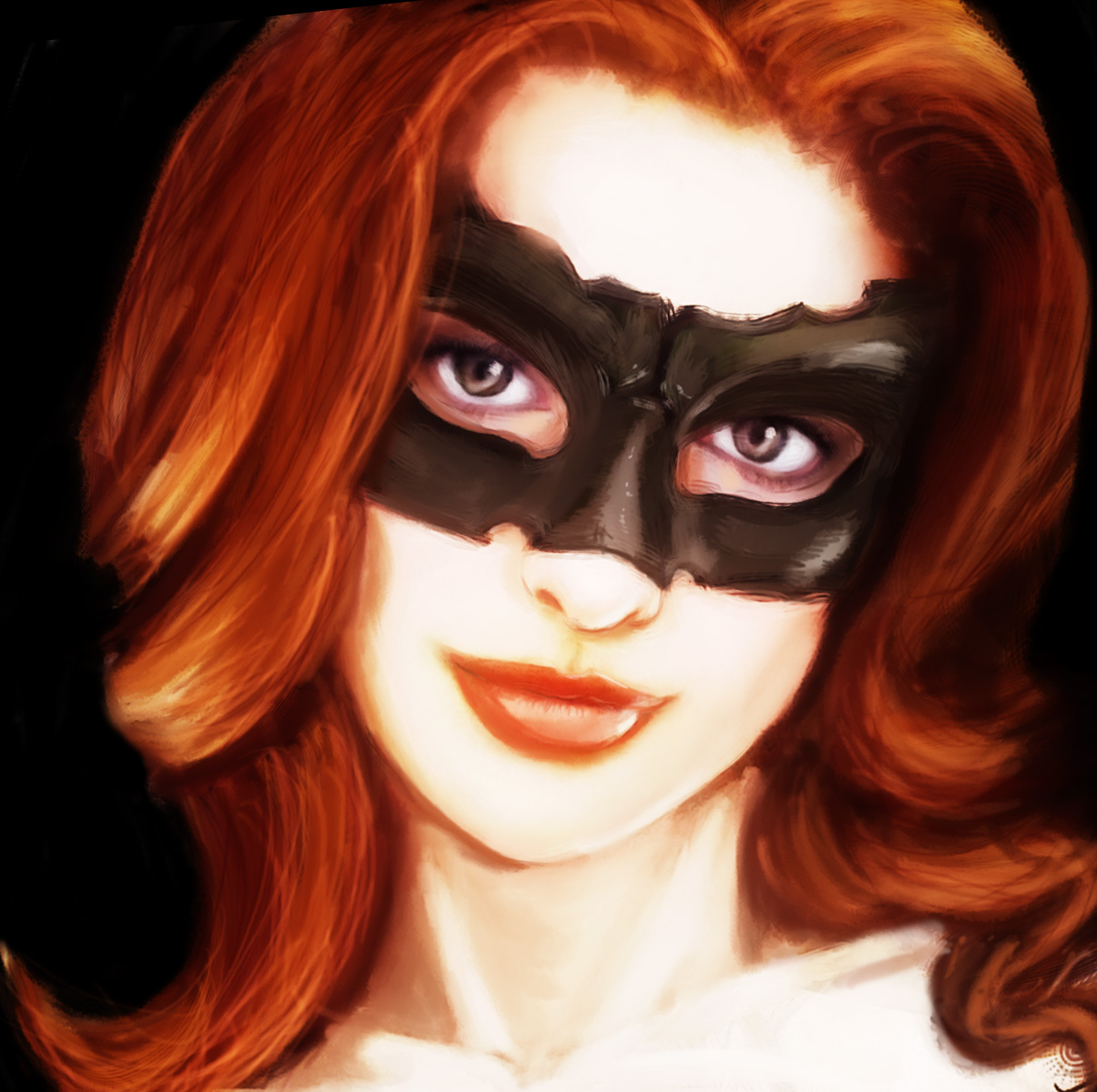 The Red Cat-Woman