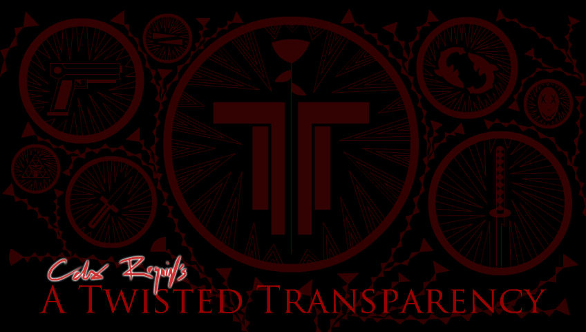 A Twisted Transparency Poster