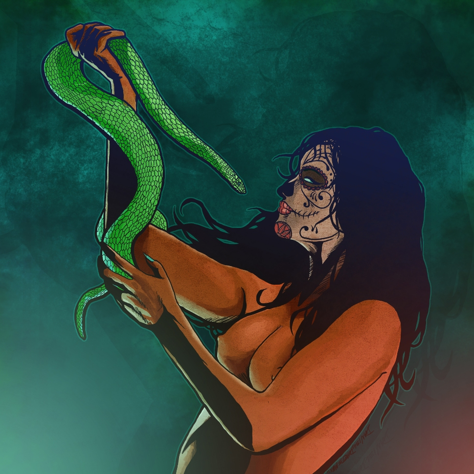 Lady of the Serpent