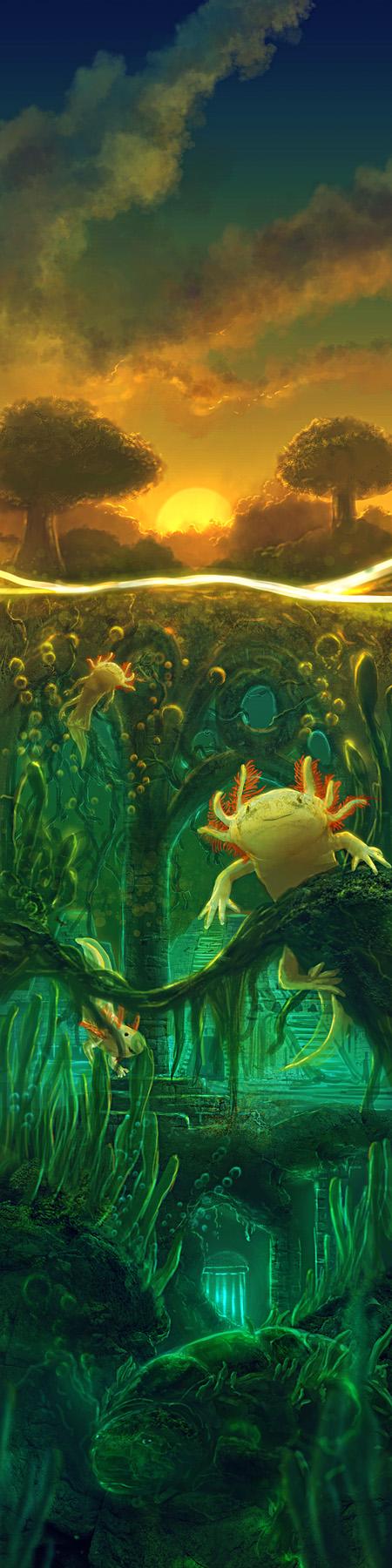 Axolotl Waters