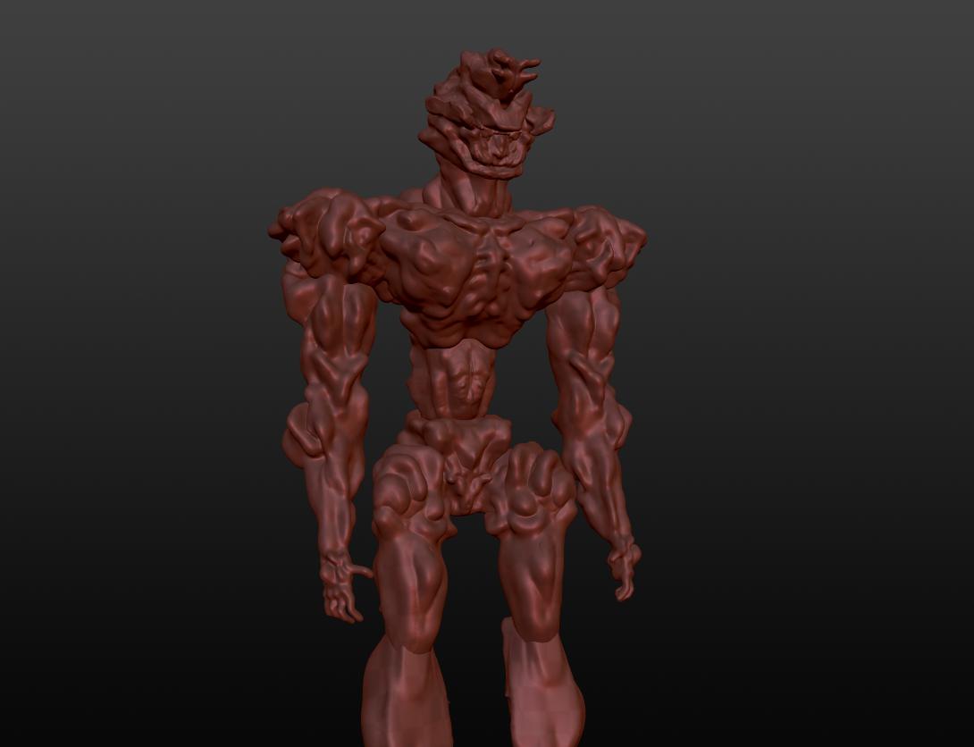 Sculptris experiment full body