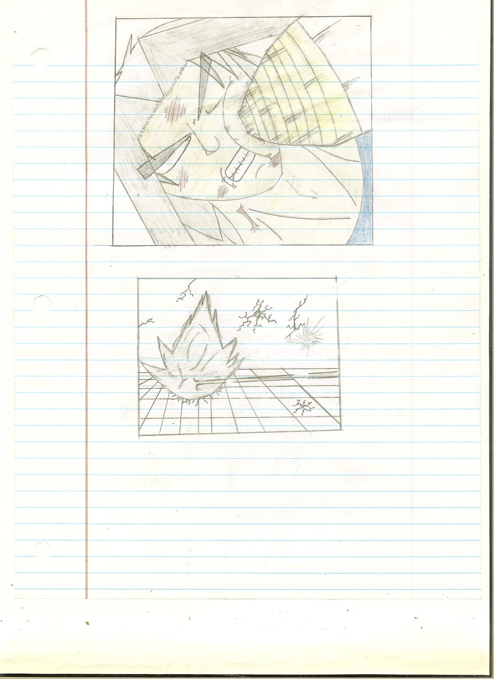 Fan DBZ Comic Page 2 - Genesis