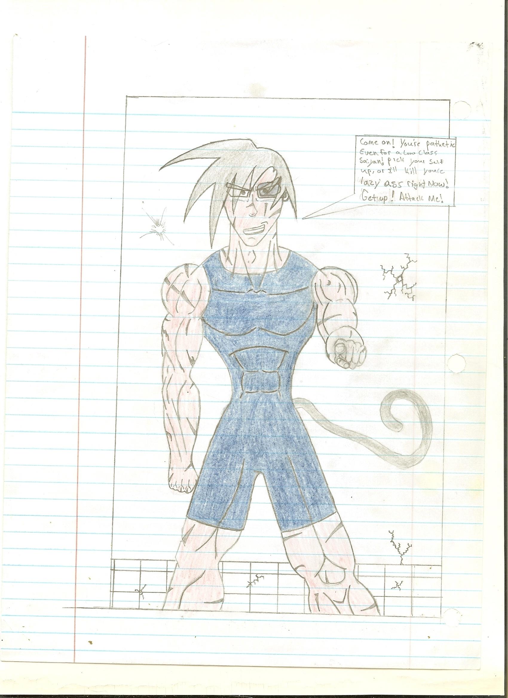 Fan DBZ Comic Page 4 - Genesis