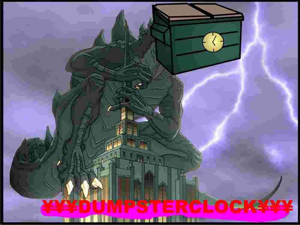 FEAR DUMPSTERCLOCK