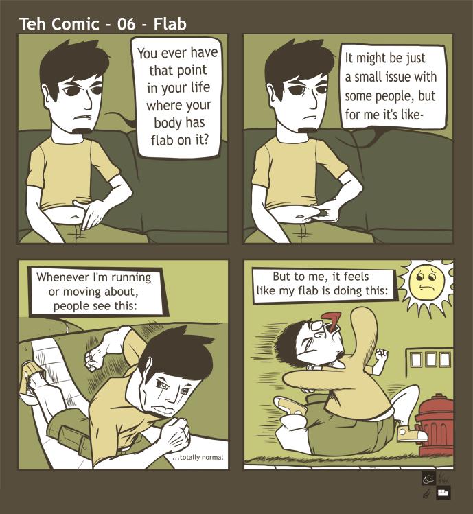 Teh Comic - 06 - Flab