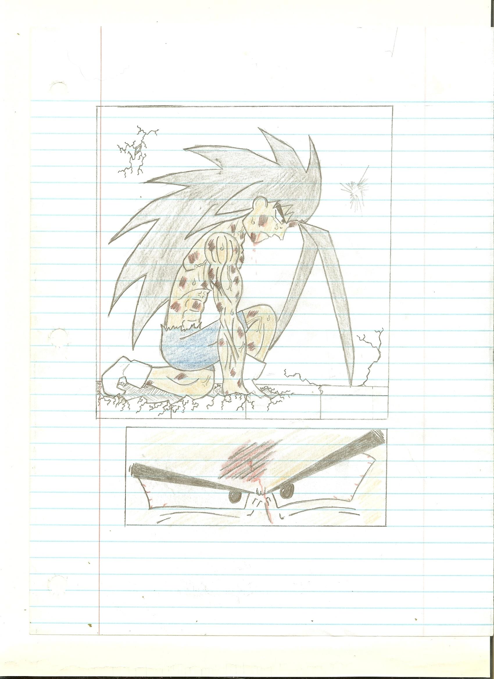 Fan DBZ Comic Page 5 - Genesis