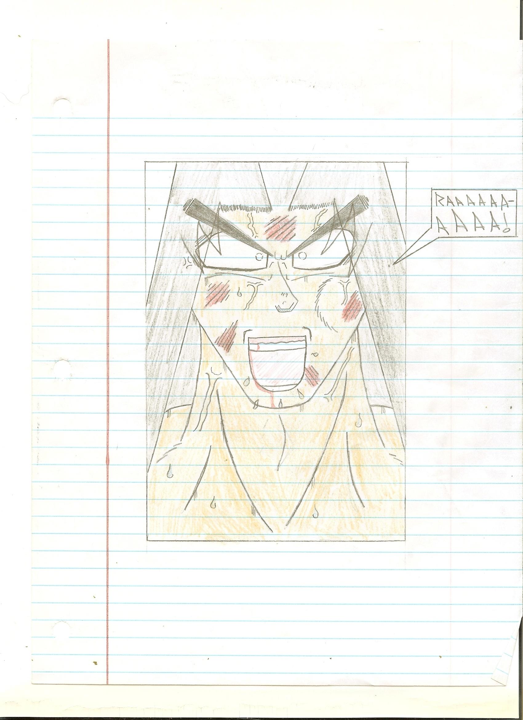 Fan DBZ Comic Page 6 - Genesis