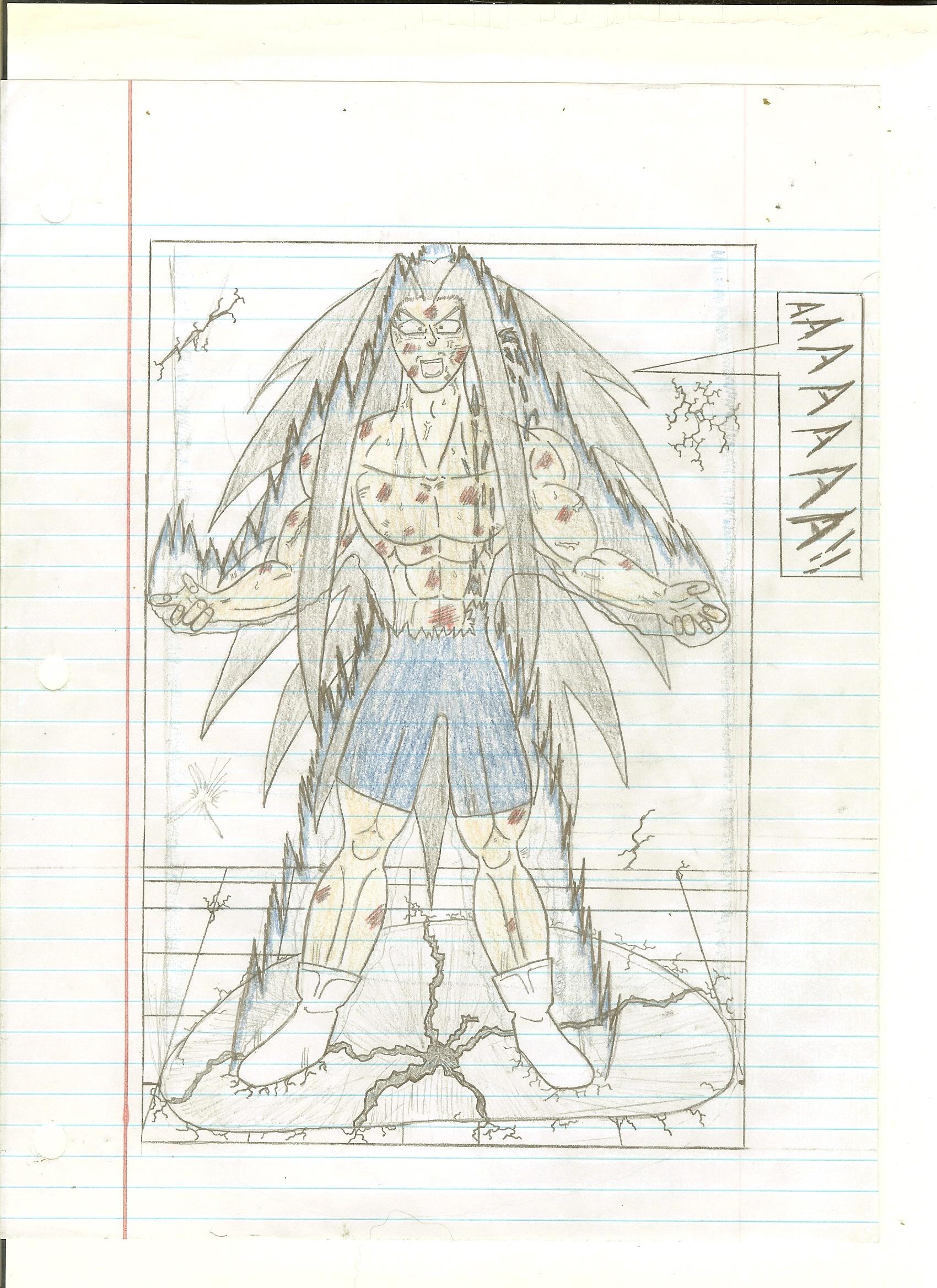 Fan DBZ Comic Page 7 - Genesis
