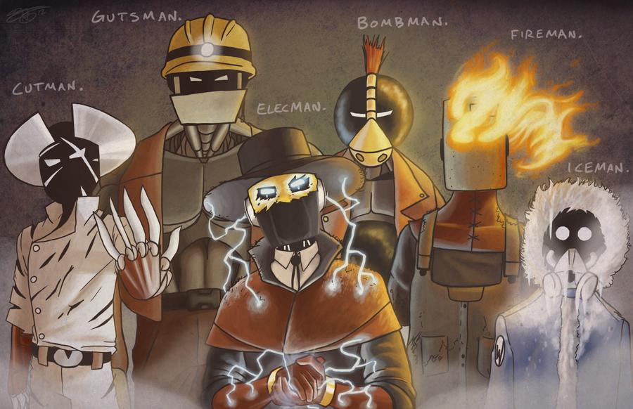 Master Robots