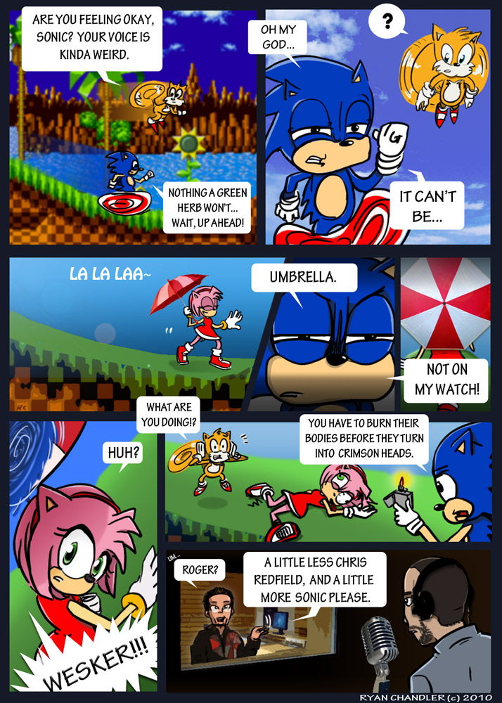 VGS - I'm Sonic the Hedgehog!