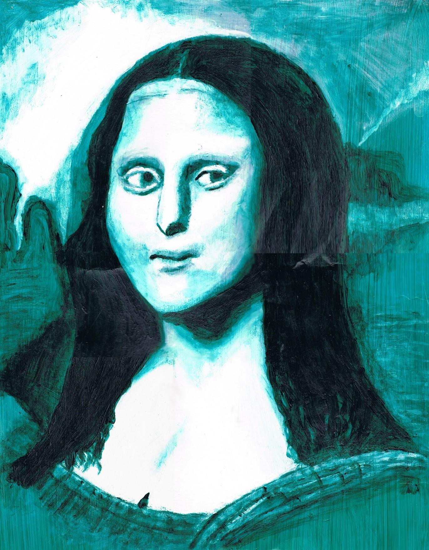 Mona Lisa Blue Bitch