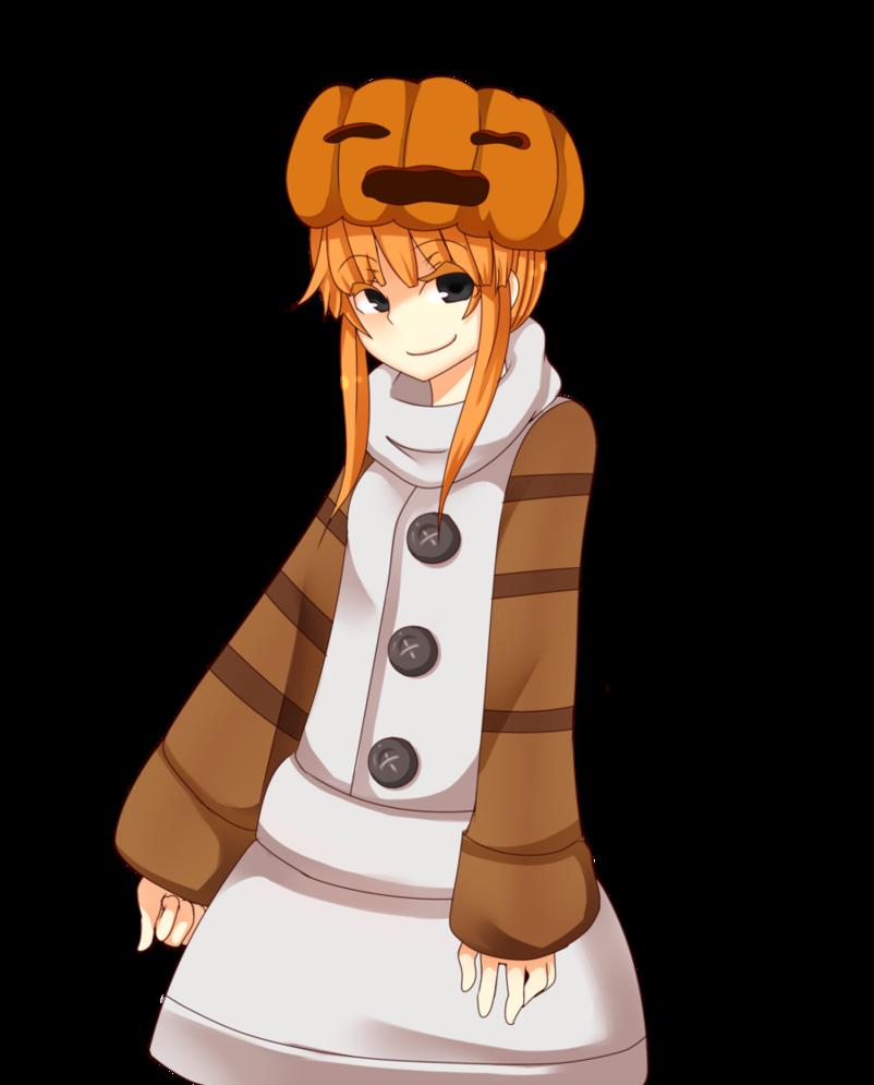 snow golem girl (minecraft)