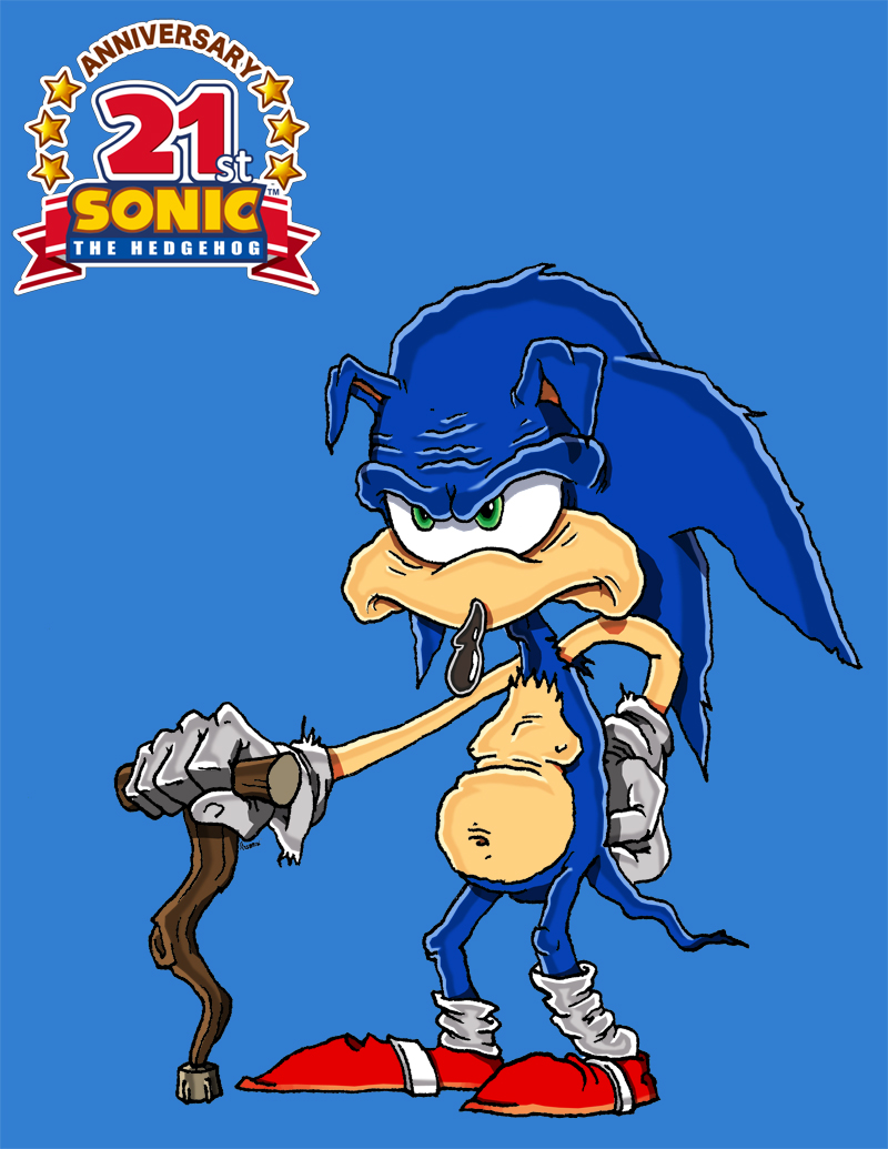 Happy 21st Birthday Sonic!