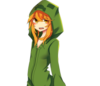 Creeper girl by 1stcutered on newgrounds - Creeper anime girl ...