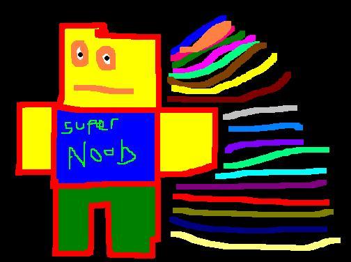 SUPER NOOOOOOB (roblox)