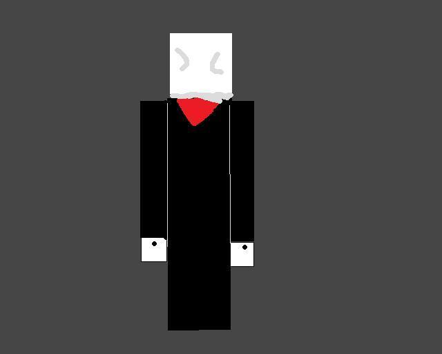 slender man in minecraft v.2