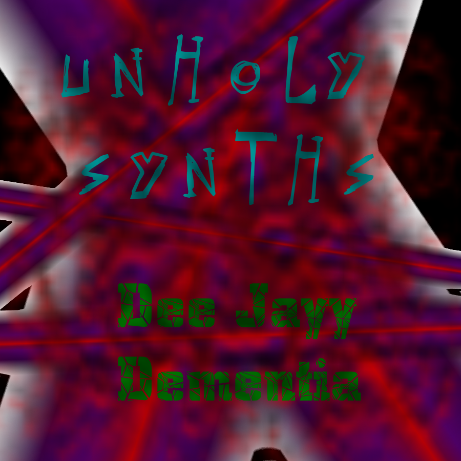Unholy Synthesizers Album Art