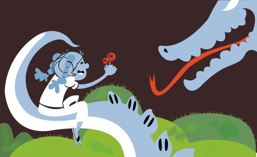 The Lollipop Dragon