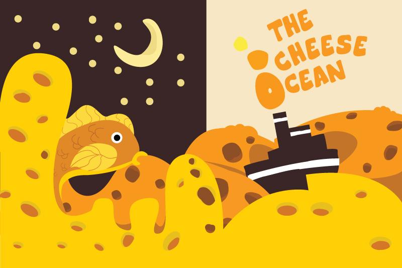 Cheese Ocean