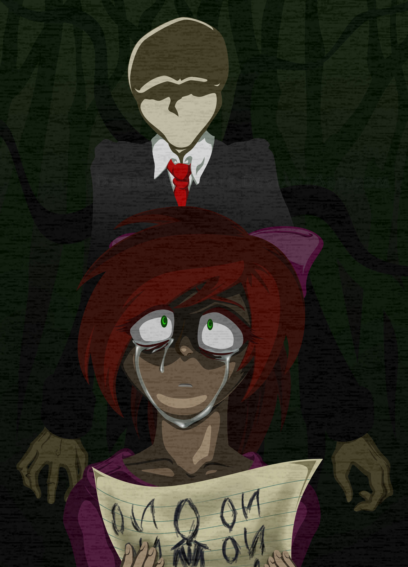 The Slenderman By Anglicanenvoy On Newgrounds